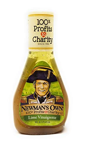 Newman's Own Salad Dressing Light Lime Vinaigrette, 16-Ounce (Pack of 3)