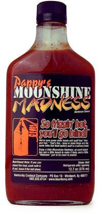 (Pappy's Moonshine Madness Hot Barbecue Sauce with Kentucky Bourbon - 12.7 oz by Pappy's)