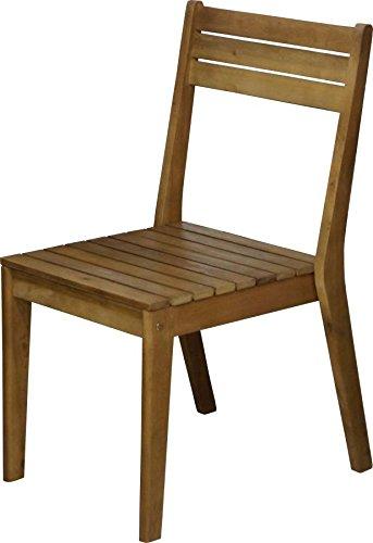 Sedie Legno Da Giardino.Ad03080 Sedia In Legno Da Giardino Classic Eucalipto Amazon It