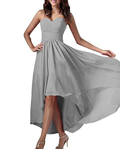 Ivydressing -  Vestito  - linea ad a - Donna argento 44