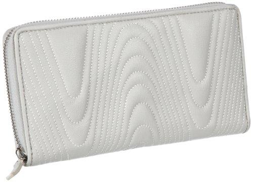 Bodenschatz Ischia 4-232 IS 27, Damen Geldbörsen 22x12x2 cm (B x H x T) Beige (Offwhite)