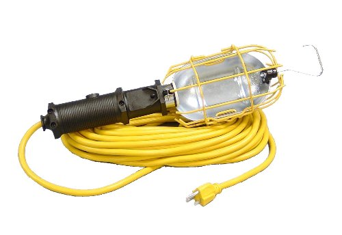 Alert Stamping HTL-25M-CB Heavy Duty Trouble Light with 25-Feet Cord