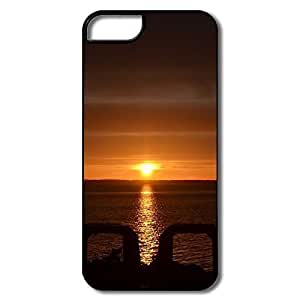 IPhone 5 5S Case, Sunset White/black Cases For IPhone 5S by icecream design