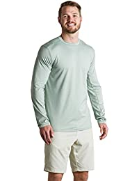 Men's Sol Cool Sun Relaxed Fit Long-Sleeve Crewneck Shirt