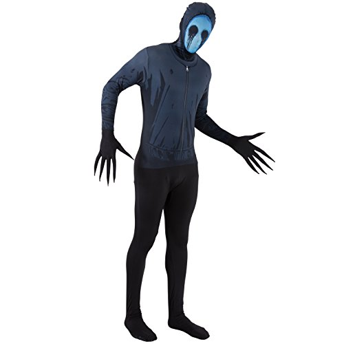 "Morphsuits Adult Eyeless Jack Fancy Dress Costume - Size Large - 5""3-5""9 -"