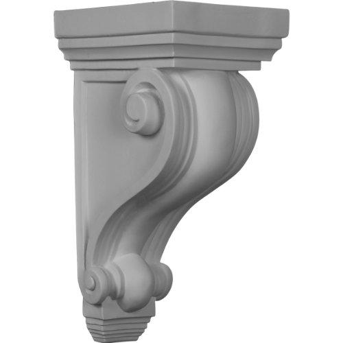 Ekena Millwork COR06X07X13DE 6-Inch W x 7-Inch D x 13 1/4-Inch H Devon Corbel