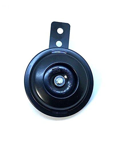 MINI-Hupe E-gepr/üft 72 mm schwarz 100 DB f/ür Motorrad Moped ATV Quad Roller Horn