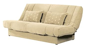 le clic clac sofa bed chenille cream