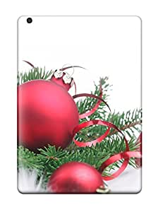 Forever Collectibles Red Christmas Decorations Christmas Appealing Hard Snap-on Ipad Air Case