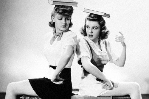 Judy Garland and Lana Turner in Ziegfeld Girl 11x17 Mini Poster (Lana Turner Poster)