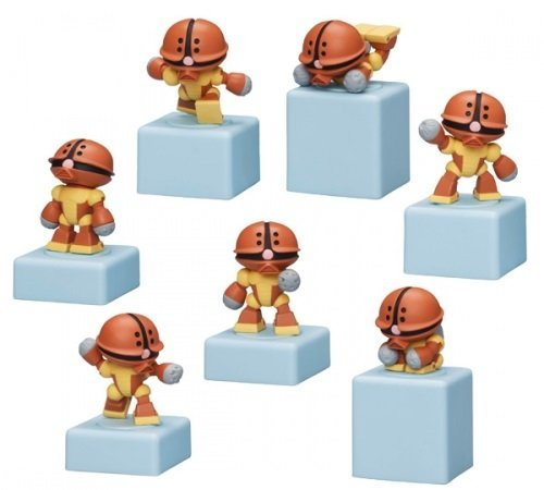SD Gundam World Acguy cute only all seven