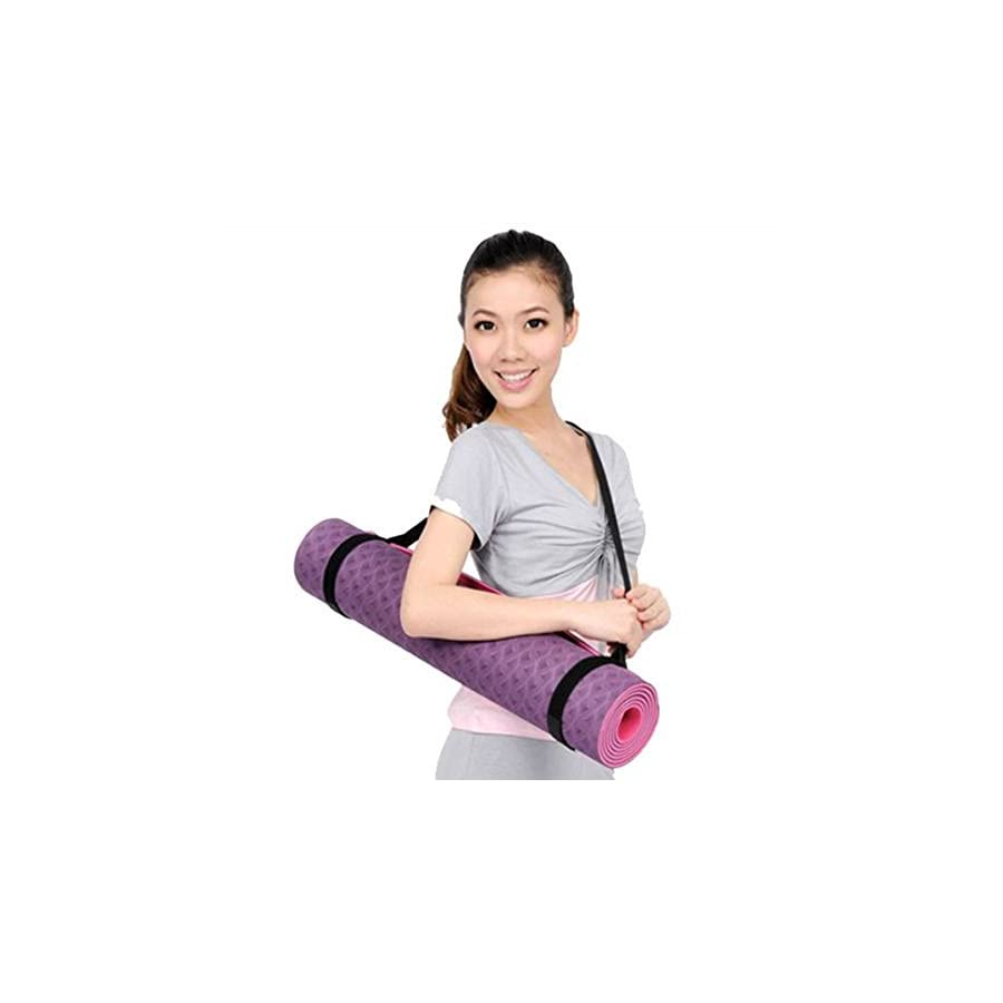 JYS Durable Yoga Mat Carry Sling Carrier Shoulder Strap Belt Assistant Tool