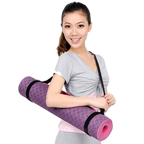 Gilroy Durable Yoga Mat Harness Strap Sling, Yoga Mat Carrying Strap (Just Strap, Not Mat)