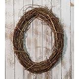 Heart of America Grapevine Oval Wreath 24in.