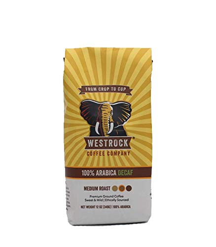 Westrock Coffee Company 100% Arabica Decaf, Medium Roast, 12-ounce Ground