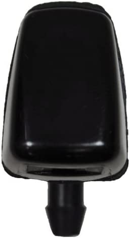 Black Windshield Washer Nozzle PT Auto Warehouse WNZ-FO346-F