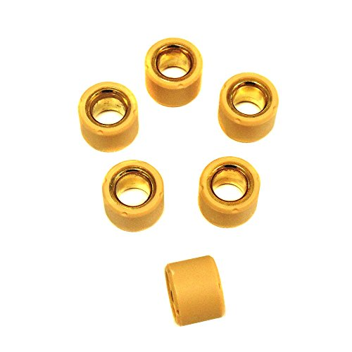 Sliding Roller Weights - MMG Variator Sliding Roller Weights Set (18x14mm) for GY6 125cc 150cc Engines - 9 Grams