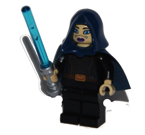 Lego Star Wars Barriss Offee Minifigure with Lightsaber