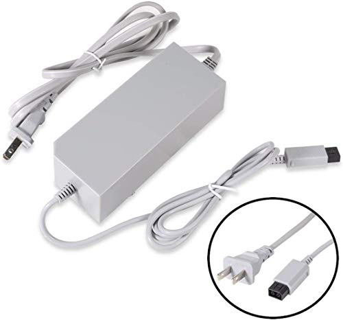 Wii Console Charger, AC Wall Power Adapter Supply Cable Cord for Nintendo Wii (Not Nintendo Wii U)