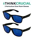 Cheap 2 Horticulture Indoor Hydroponics Grow Room & Greenhouse Light Glasses (Goggles), Anti UV, Ultra-Violet, HPS, MH Lights Reflection & Glare Optical Protection, by Think Crucial