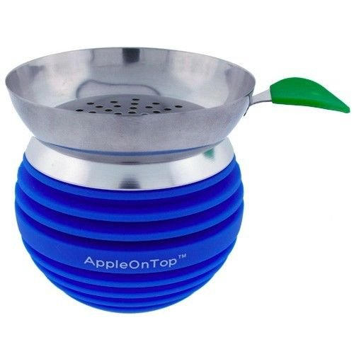 BLUE Apple on top HOOKAH BOWL (1 PIECE)