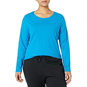 JUST MY SIZE Women's Plus Size Long Sleeve Tee