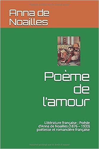 Poème De Lamour Littérature Française Poésie Danna De