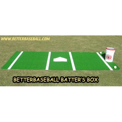 6 x 12 ft. Better Baseball Batter's Box by Better Baseball