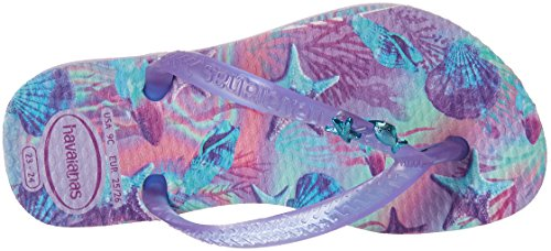 Havaianas Kids Slim Summer Sandal, Lavender 23/24 BR/Toddler (9 M US) - Image 8