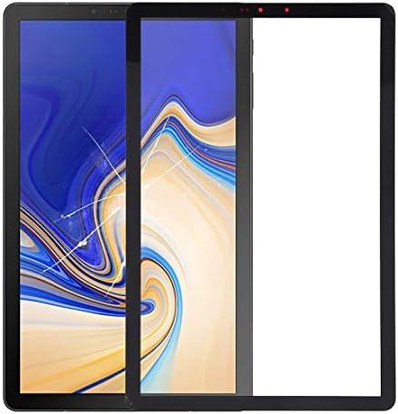 携帯電話のタッチスクリーン ギャラクシータブ10.5 S4 / SM-T830 / T835用のフロントスクリーンの外側ガラスレンズ(ブラック) (Color : Black)