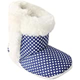 CHIU Fur SmallPolka Booties for 0-6 Month's and 6-12 Month's Baby Girl and Baby Boys
