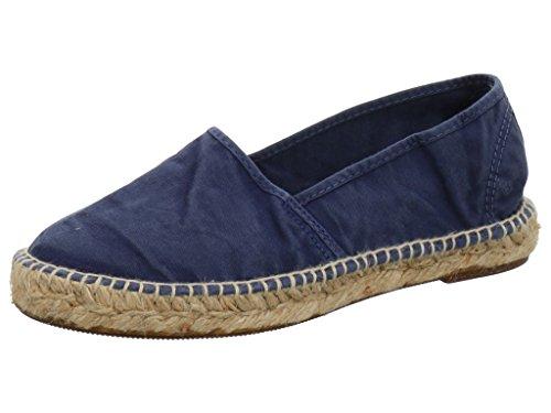Natural World Women's 625 e 621 Loafer Flats blue Size: 3 UK qGsi5lz