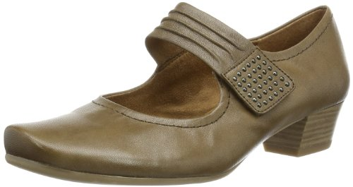 Caprice Ginny-2-1 9-9-24314-22 001, Women's Slippers Taupe