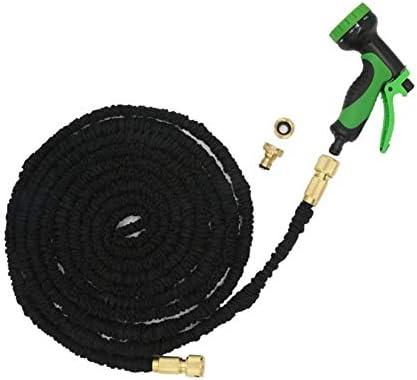 10 Modes Magic Water Pipe Household Garden Telescopic Hose Car Wash Gun Watering Black Garden Water Hose Water Pipe Cleaning Tool (Size : 3000cm)