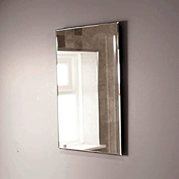Bathroom Mirror Wall Furniture Large Cloakroom 600 X 400 Mounted Hung Modern Designer 5mm Glass With