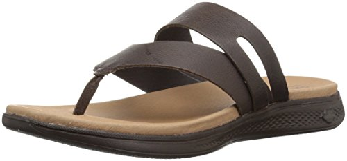 Skechers Performance Women's Luxe Collection-15320 Flip-Flop, Brown, 8 M US (Collection Skechers)