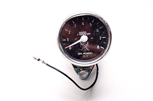 Drag Specialties D243900 2-1 Tachometer Cable Driven Harley Davidson QTY ()