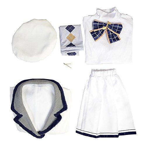 Love Live! Sunshine! Kanan Matsuura Cosplay Costumes Spring Girls's Skirt Uniform Suit by starfun (Image #5)