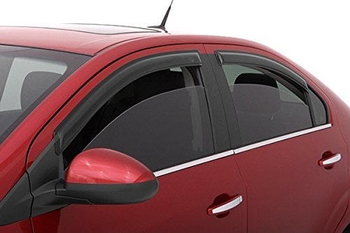 FITS FORD FUSION 2006-2012 AVS TAPE ON RAIN GUARDS WINDOW VISORS 4PCS