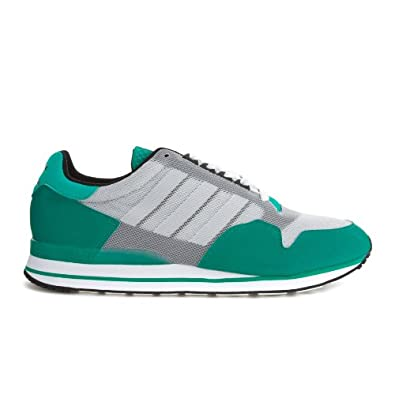 los angeles 55962 655b9 Adidas Zx 500, Grey White Green Uk Size  6