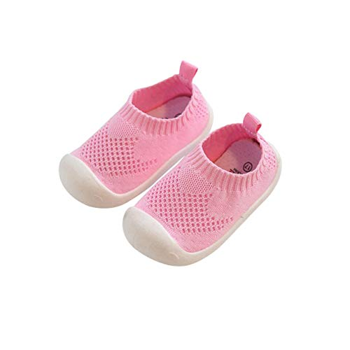 Wooden Fashion Dolls - DEBAIJIA Baby First-Walking Shoes 1-4 Years Kid Shoes Trainers Toddler Infant Boys Girls Soft Sole Non Slip Mesh Breathable Lightweight TPR Material Slip-on Sneakers Outdoor