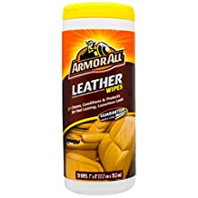 Armor All 10881 Leather Wipe - 20 Sheets