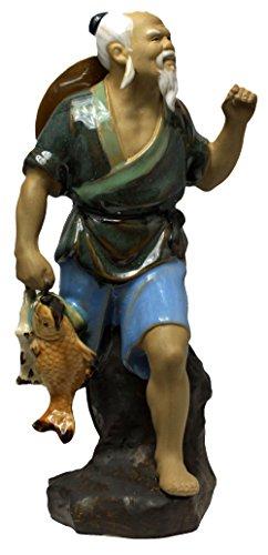 Chinese Fisherman Statue - Chinese Fisherman Figurine