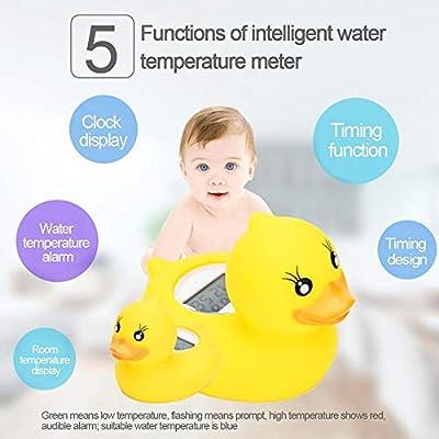 Termómetro de habitación y baño-libre De Bpa-Precisa De Temperatura Gauge Pato