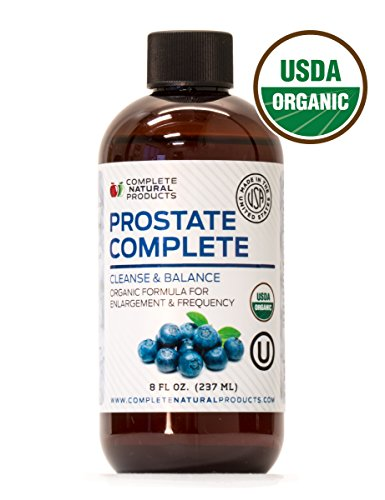 Prostate Support Complete 8oz - Natural Organic Prostate Health Supplements & Formula for Men
