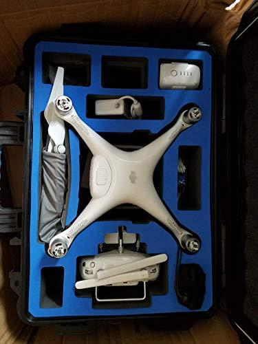 DJI Phantom 4 (Version UE) - Drone Quadricoptère avec Caméra - Offre 30-Min de Vol - Caméra 4K - Photos & Vidéos HD - Design Élégant - 5 Capteurs Optiques - Radiocommande avec Support Mobile