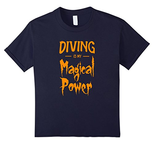 Kids Diving Is My Magical Power T-Shirt Funny Halloween Gift 12 (Scuba Diver Halloween Costume Ideas)