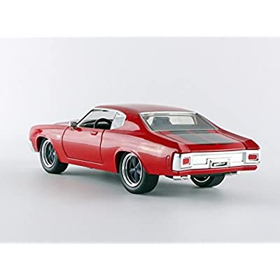 Jada Toys Fast & Furious Movie 1 24 Diecast - '70 Chevy Chevelle SS Diecast Vehicle: Toys & Games