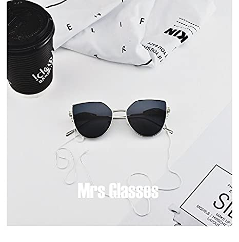 Lunettes de Soleil Polarisées Wayfarer Angel wings Eyeware Princess agents same style for WANGDERLAND 2017AW sunglasses-Silver frame Black lenses jlby5
