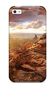 Hard Plastic Iphone 5c Case Back Cover,hot Canyonlands National Park Case At Perfect Diy
